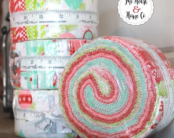 "Vintage Holiday by Bonnie & Camille for Moda Jelly Roll  2.5"" strips"