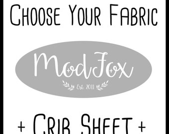 Custom Crib Sheet - Choose Your Fabric - Custom Fitted Crib Sheet In Any Fabric - Fitted Crib Sheet - Toddler Sheet -Baby Sheet-Baby Bedding