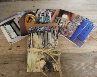 """Beautiful, inspiring printed photo stationery """"Gates of the Southwest"""". Sets of 6. Greeting cards, thank you notes, invitations, note cards."""