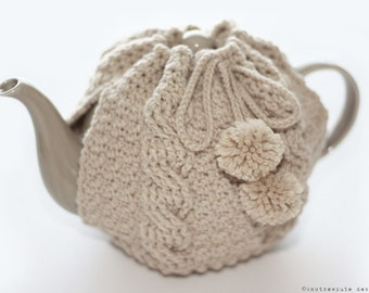 CROCHET PATTERN - Tea Time Cozy - Instant Download (PDF)