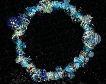 Boho Aqua Bracelet