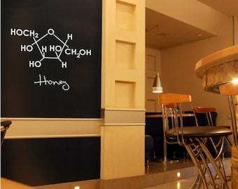Sweet Molecules - Medium - Set of 6 - Vinyl Wall Decals