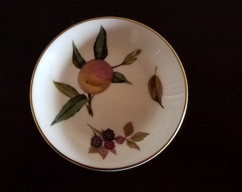 Royal Worcester Arden Trinket Dish, Coaster or Ashtray