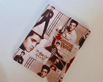 Elvis Cover for Kindle, Handmade Elvis eReader Case, Elvis Sleeve for Kindle