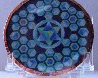 AA Raphael and St Germain Mandala Disc