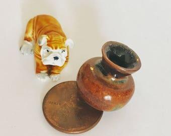 The Golden Bulldog Miniature Gift