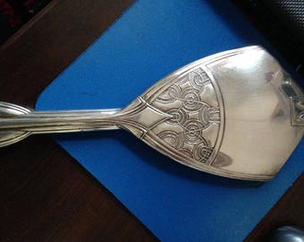 Art Deco Sterling Silver Mirror