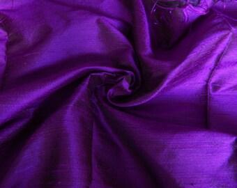 Silk Fabric, Dupioni Silk Fabric, Blend Silk Fabric, Art Silk Fabric, Purple Dupioni Silk Fabric