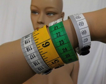 New colors! Measuring ribbon bracelet in different colors