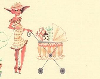 Baby Shower Invitation Set of 45, Custom Order for Gerri by MissHollyLu