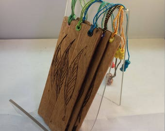 Quill Wood bookmark