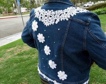 custom made jean jacket