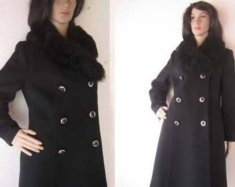 True vintage 50s A-line coat jacket Britta model S / m