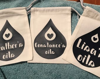 Customized Essential Oil Bag