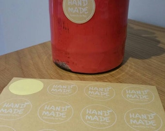 Hand Made Especially For You Stickers Pk20
