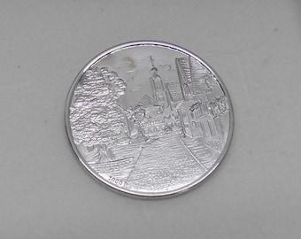 Coin medal bad Kohlgrub 1000 silver MZ101