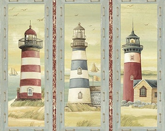 Quilting Treasures - Seaside Panel