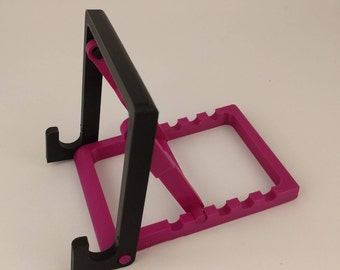Adjustable tablet/ phone stand | Apple | Android | 3D printed