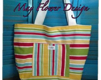 Beach Tote Bag / Summer Bag