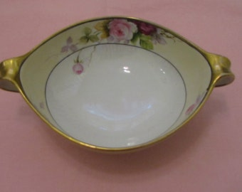 Antique serving bowl