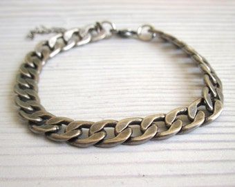 Mens Silver Bracelets - Mens Bracelet - Men's Jewelry - Jewelry For Men - Bracelets For Men - Gift for Him - Man Bracelet