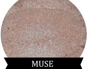 MUSE  Nude Iridescent Pink Eyeshadow