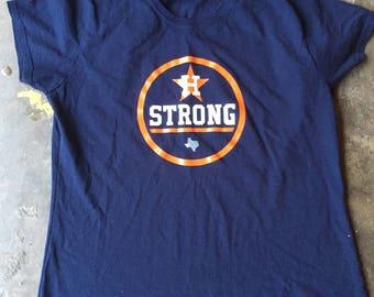Houston Strong Tee (Wmns)