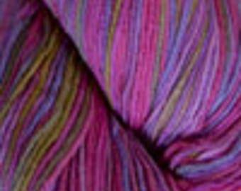 Pink Variegated Sock Yarn Superwash Wool/Nylon Blend Cascade Yarns #9692