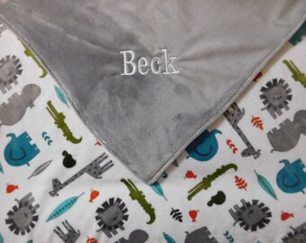 Personalized Baby Blanket