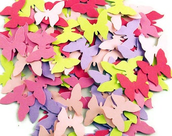 Funfetti Paper Confett  Butterfly   Die Cuts in  Butterfly Wings  Quantity 300 Pieces