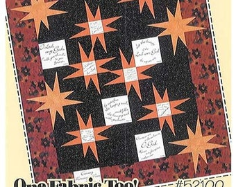 Guiding Stars Quilt Kit with Comfort of Psalms II Fabric Panel