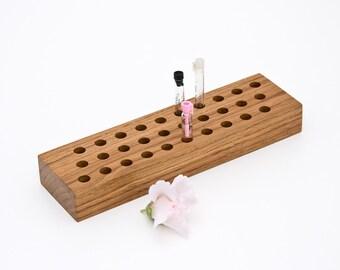 Perfume Sample Holder, Fragrance Cologne Essential Oil Sample Organizer STEPHEN