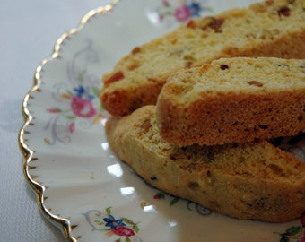 Orange Pistachio Biscotti