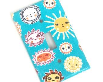 Sunshine Fiesta Light Switch Plate Cover
