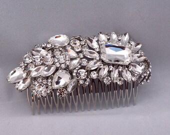 Bridal Headpiece Wedding Hair Jewelry Bridal Hair Brooch ON SALE