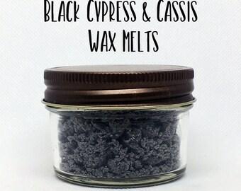 Black Cypress and Cassis Wax Crumbles - Cypress Wax - Wax Crumble - Soy Wax - Wax Melt - Wax Tarts - Candles - Cassis - Home Fragrance - Wax