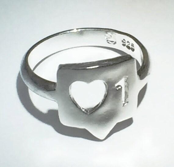 One Heart - One Love - One like ring