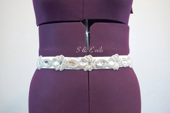 Wedding Belt with Sash
