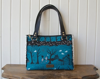 The Dandelion Double Zip Handbag - PDF Sewing Pattern