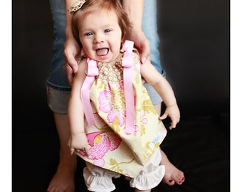 Baby Mädchen Kleid Kissenbezug Amy Butler Midwest Modern