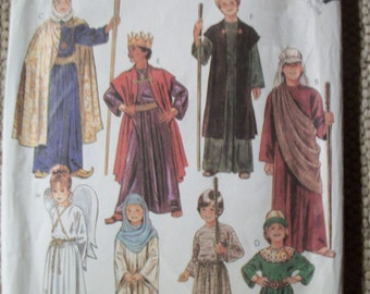 McCall 2067 Children's, Girls and Boys Biblical Costumes Sizes  XS 4-6