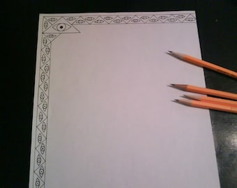 all seeing eye stationary