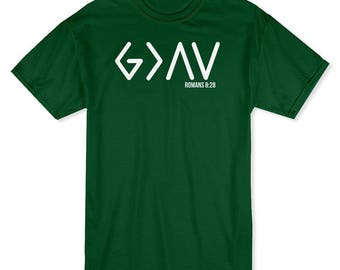 GOD Is Greater Than Highs & Lows Men's T-shirt