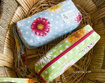 The Wendy Zipper Pouch  PDF Sewing Pattern (#230)