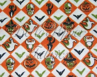 RJR-Halloween Argyle 1 Yard