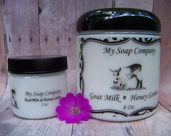 Goat Milk Lotion, Fairy Dust Scent, Hand Lotion, Body Lotion, My Soap Company, Jar Of Lotion, Moisturizer, Gift For Her, Mothers Day Gift