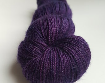 Skein of Superwash Merino - Nylon - Stellina / Fingering / Sock hand - dyed color Athena