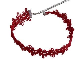 Lace Choker, Black Lace Choker, Lace Choker Necklace, Boho Lace Choker, Festival Choker, Gift for Her, Choker Necklace, Choker,