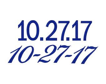 Add a Date!