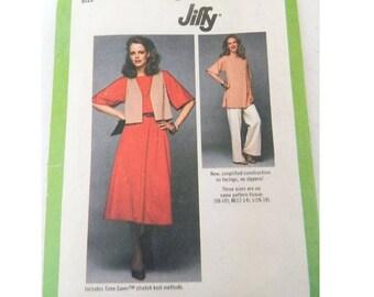 Simplicity Pattern 8778 - Vintage Dress, Tunic and Vest Patatern - Uncut - Size 8 - 18